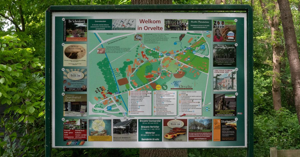 Orvelte-Routekaart